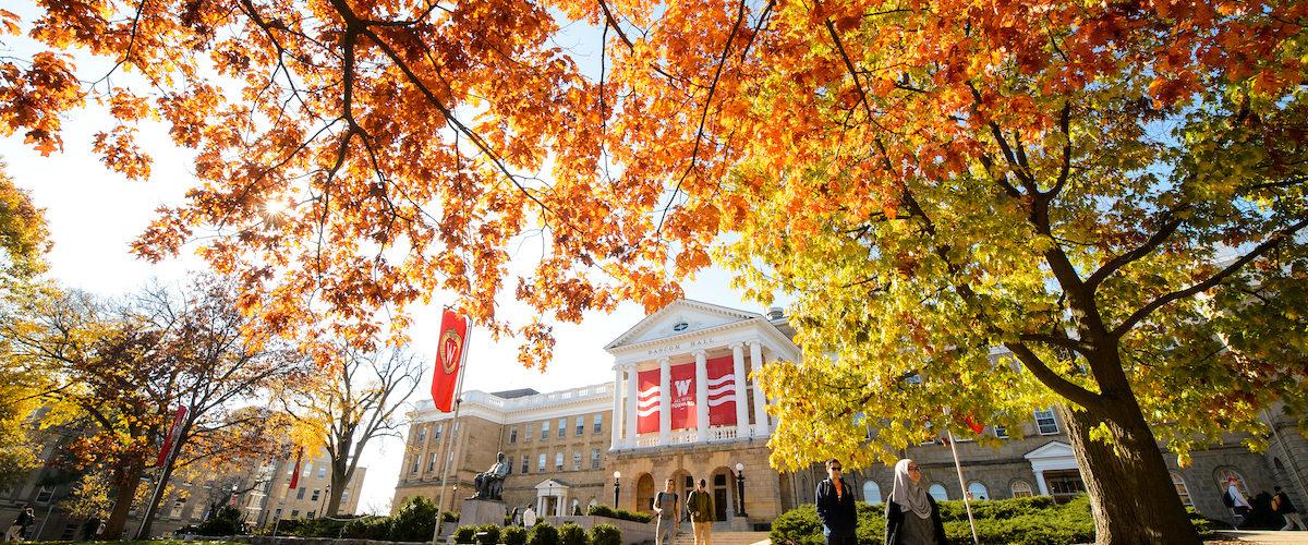 Bascom Hall at Fall